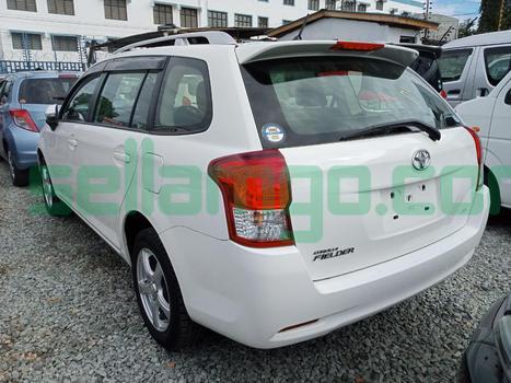 Toyota Fielder 4wd 2014